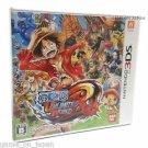 One Piece Unlimited World Red  Nintendo 3DS Game Japanese Import Used