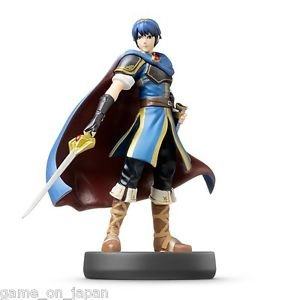 Marth Fire Emblem Amiibo Nintendo Wii U 3DS Japan Version
