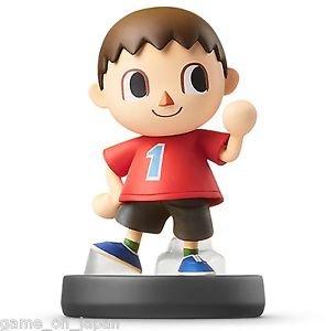 Villager Amiibo Nintendo Wii U 3DS Japan Version Super Smash Brothers