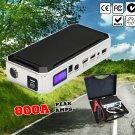 12V 800A Portable Emergency Jump Starter 30000mAh Backup Power Bank Car Charger