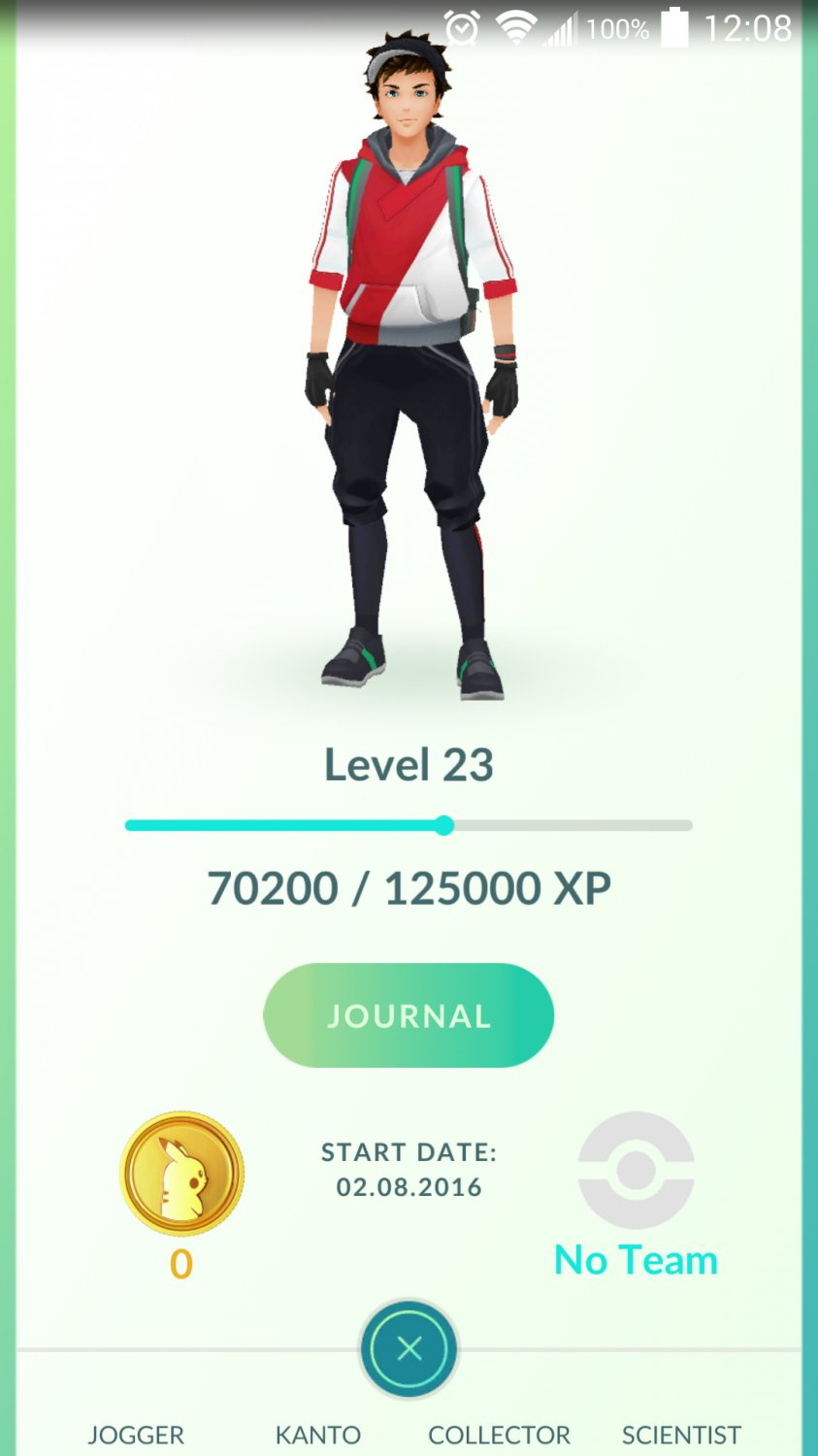 Pokemon Go Account level 21+