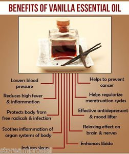 Ambrosial Vanilla Essential Oil 100% Natural Pure Organic Uncut Undiluted