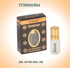 Al Nuaim Makkah 3ml Attar Perfume Oil Alcohol Free Natural by Ambrosial