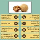 Ambrosial Nutmeg Oil 100% Pure Organic Natural Uncut Undiluted 10ml to 1000ml