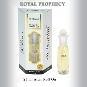 Al Nuaim Royal Prophecy 25ml Attar Perfume Oil Alcohol Free Natural by Ambrosial