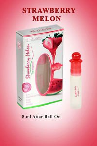 Al Nuaim Strawberry Melon 8ml Attar Perfume Oil Alcohol Free by Ambrosial