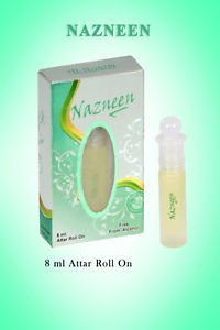 Al Nuaim Nazneen 8ml Attar Perfume Oil Alcohol Free by Ambrosial