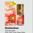Ambrosial 8ml Gulmohar Attar 100% Natural Pure Perfume Oil