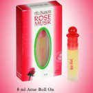 Al Nuaim Rose Musk 8ml Attar Perfume Oil Alcohol Free by Ambrosial