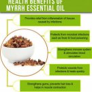 Ambrosial Myrrh Oil (Commiphora myrrha) 100% Pure Organic Natural