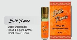 Ambrosial 8ml Silk Route Attar 100% Natural Pure Perfume Oil