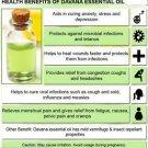 Ambrosial Davana Essential Oil 100% Pure Organic Natural