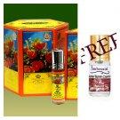 Al Rehab Bakhour Unisex Oriental Attar Concentrated Arabian Perfume Oil 6ml 6PCS