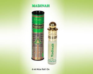 Al Nuaim Madinah 6ml Attar Perfume Oil Alcohol Free Natural by Ambrosial