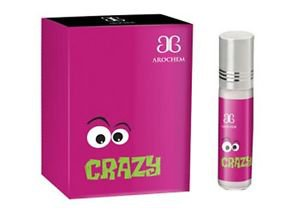 Arochem Crazy UniSex Oriental Attar Concentrated Arabian Perfume Oil 6ml