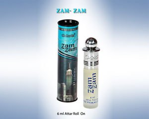 Al Nuaim Zam Zam 6ml Attar Perfume Oil Alcohol Free Natural by Ambrosial