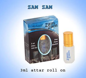 Al Nuaim Zam Zam 3ml Attar Perfume Oil Alcohol Free Natural by Ambrosial