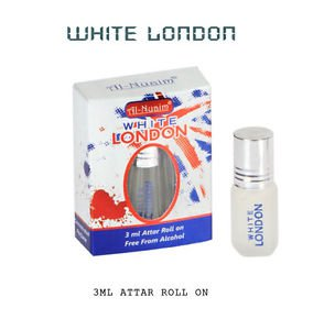 Al Nuaim White London 3ml Attar Perfume Oil Alcohol Free Natural by Ambrosial