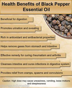 Ambrosial Black Pepper Essential Oil 100% Pure Organic Natural 10ml to 1000ml