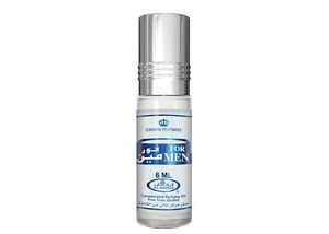 Al Rehab For Men for Men Oriental Attar Concentrated Arabian Perfume Oil 6ml