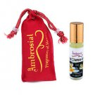 Ambrosial 8ml Nag Champa Pure & Natural Indian Attar Perfume Concentrate Oil