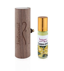 Ambrosial 8ml Champa Gift Set Natural Indian Attar Perfume Concentrate Oil