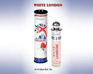 Al Nuaim White London 6ml Attar Perfume Oil Alcohol Free Natural by Ambrosial