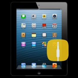 Apple iPad 4 Audio Jack Replacement