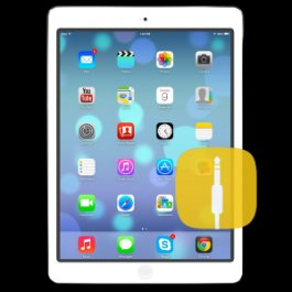 Apple iPad Air Audio Jack Replacement