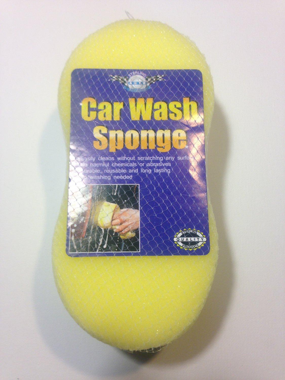 Car Wash Sponge - Yellow