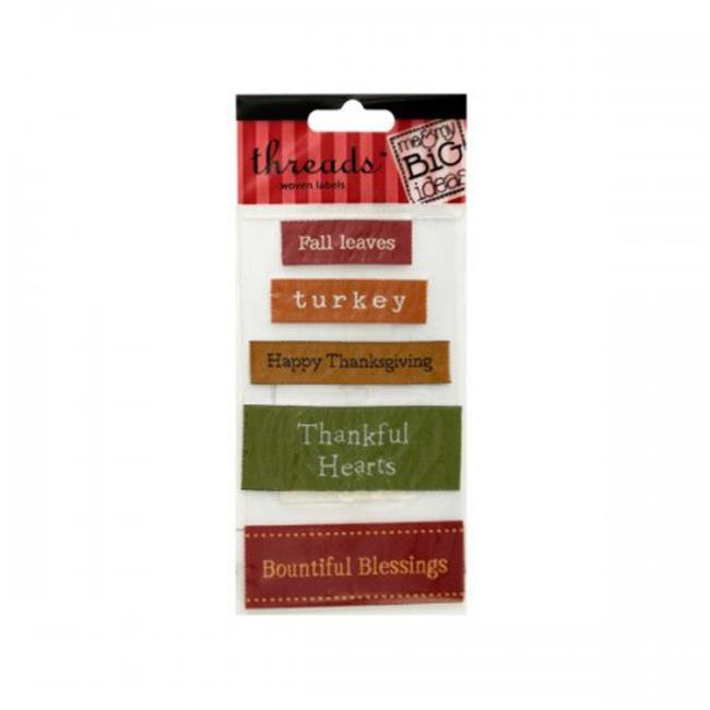 Thanksgiving Woven Labels