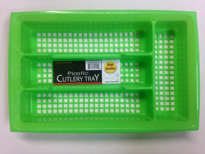 Plastic Cutlery Utensils Flatware Tray Organizer