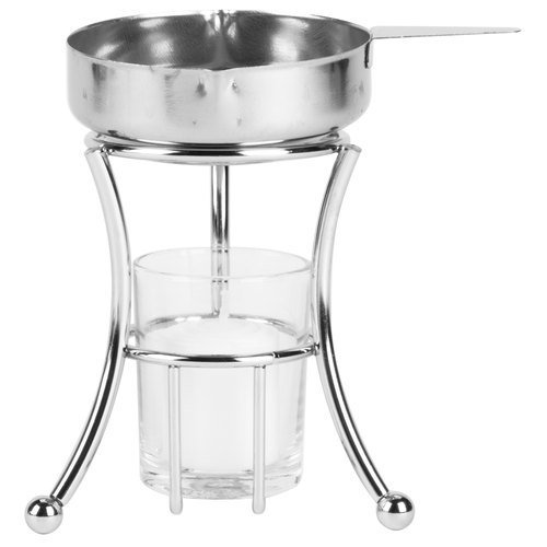 Stainless Steel Butter Warmer Melter with Pan
