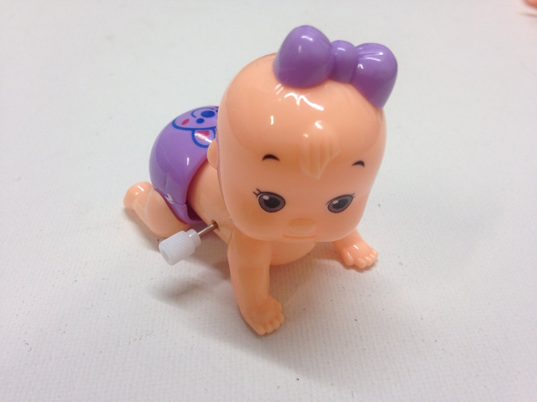 Wind-up Crawling Baby Boy