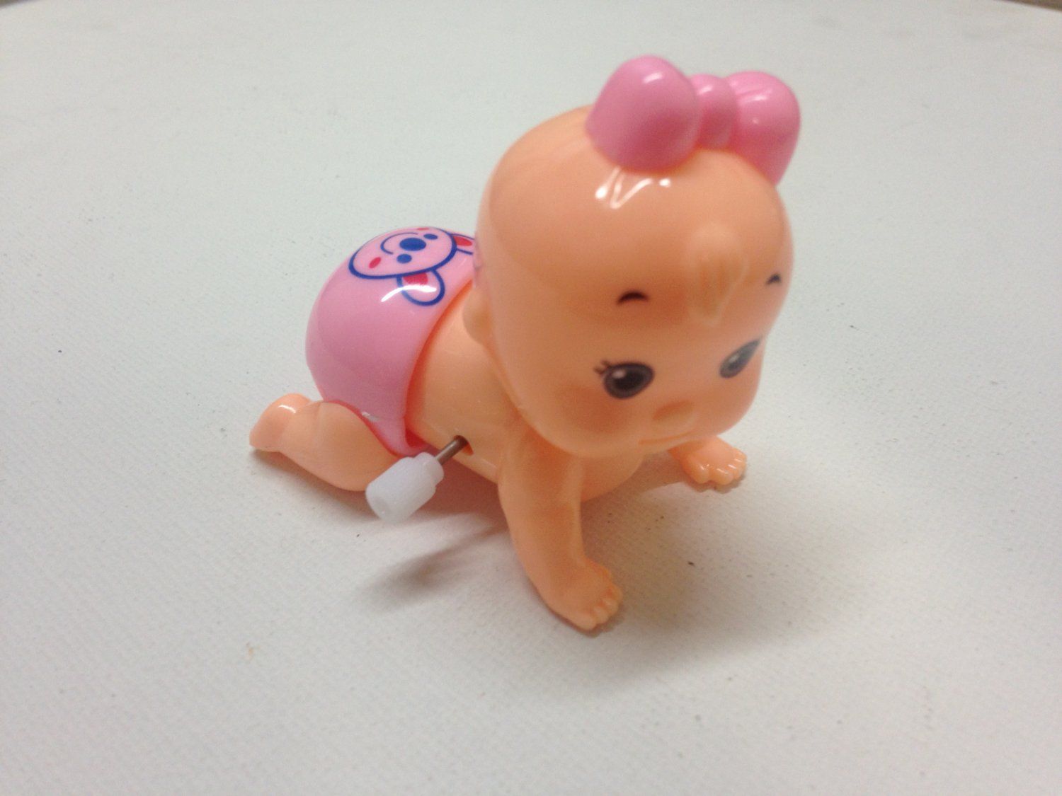 Wind-up Crawling Baby Girl