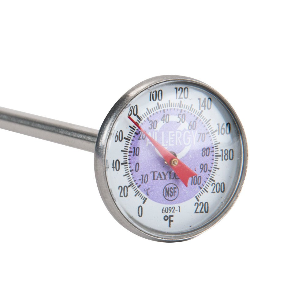 """Taylor 5"""" Allergy Cross-Contamination Reduction Thermometer"""