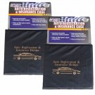 Set of 2 Vehicle Auto Car Truck Insurance Registration ID Card Documents Holders