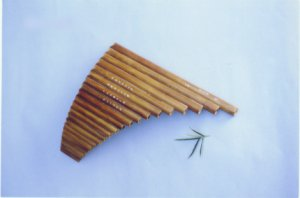 JY-301--18-Tube Sound-fixed Bamboo Pan Flute