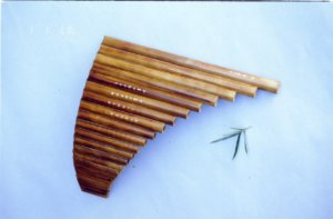 JY-302--22-Tube Deluxe Bamboo Pan Flute