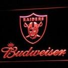 Oakland Raiders Budweiser LED Neon Sign Light NFL Football Sports Team Orange