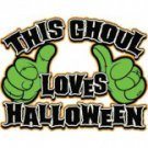 This Ghoul Loves Halloween Tee Shirt