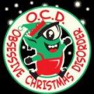 OCD Obsessive Compulsive Christmas Disorder Tee Shirt