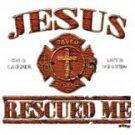 Jesus Rescued Me Tee Shirt
