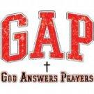 GAP God Answers Prayers Tee Shirt