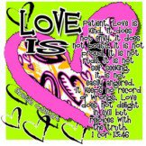 Love Is 1 Cor 13:46 Tee Shirt