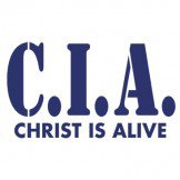 CIA Christ Is Alive Tee Shirt