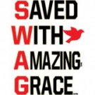 SWAG Saved WIth Amazing Grace Tee Shirt