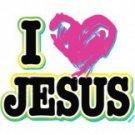 I Love Jesus Tee Shirt