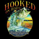Hooked On Jesus Tee Shirt