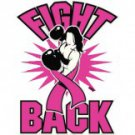 Fight Back Breast Cancer Awareness Tee Shirt